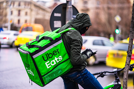 Uber eats no courier nearby