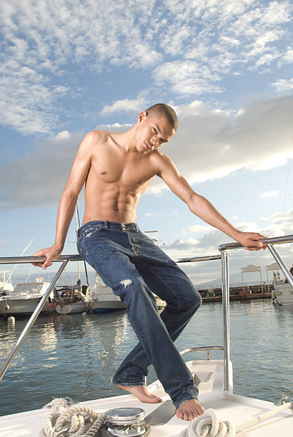 Nude Fishing Photos Stock Photos, Pictures & Royalty-Free