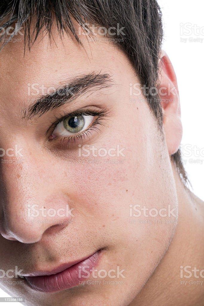 Joven Man foto de stock libre de derechos