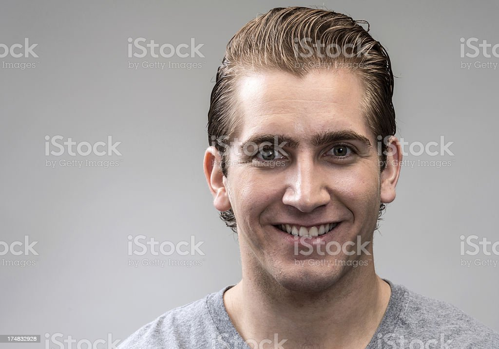 Young man (real people) royalty-free stock photo