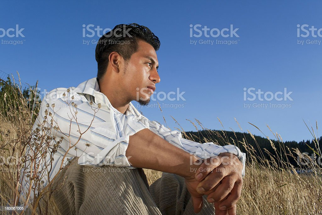 Young Man stock photo