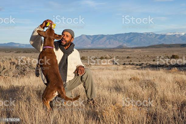 Young man playing with his brown dog and ball in a field picture id119793256?b=1&k=6&m=119793256&s=612x612&h=454 atj1dvzq zsqffdocm7wudgeq5ipyopgzcvmmx4=