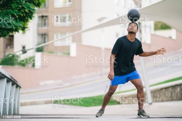 Young man playing with soccer ball picture id1130513358?b=1&k=6&m=1130513358&s=612x612&h=jxdsrie6jj nrym0qjkkom k g1fpj17lvlwhf1fdja=