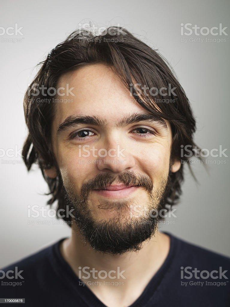 Junger Mann Porträt – Foto