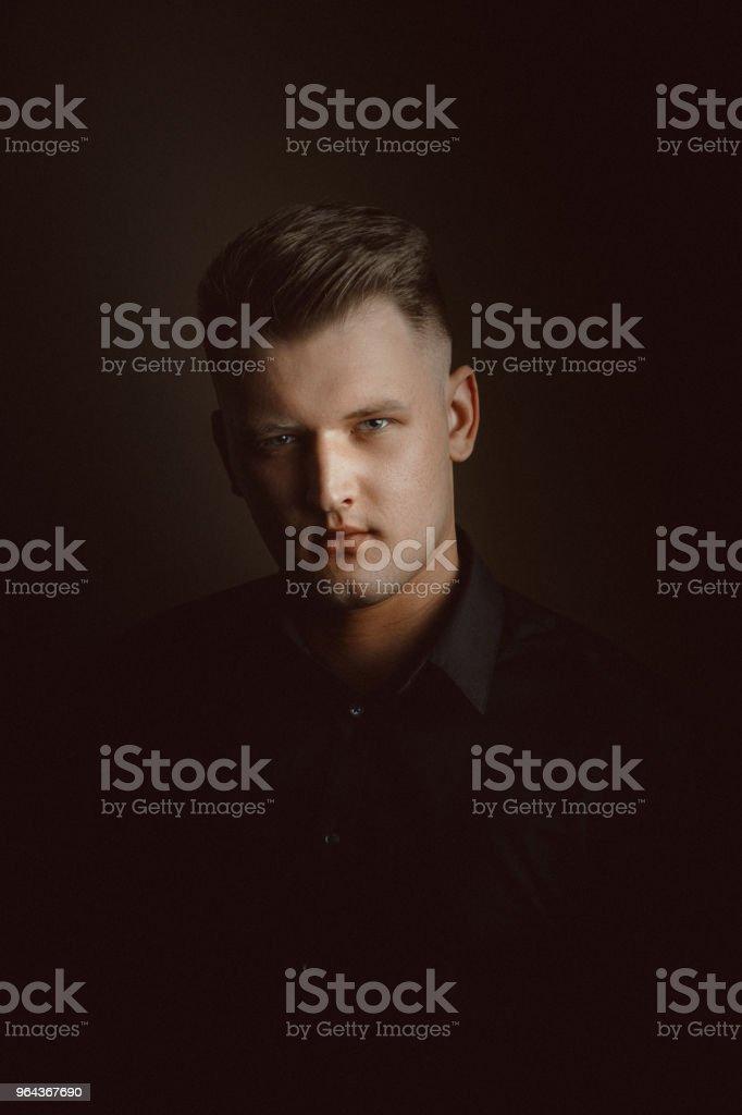 Jovem Retrato - Foto de stock de 30 Anos royalty-free