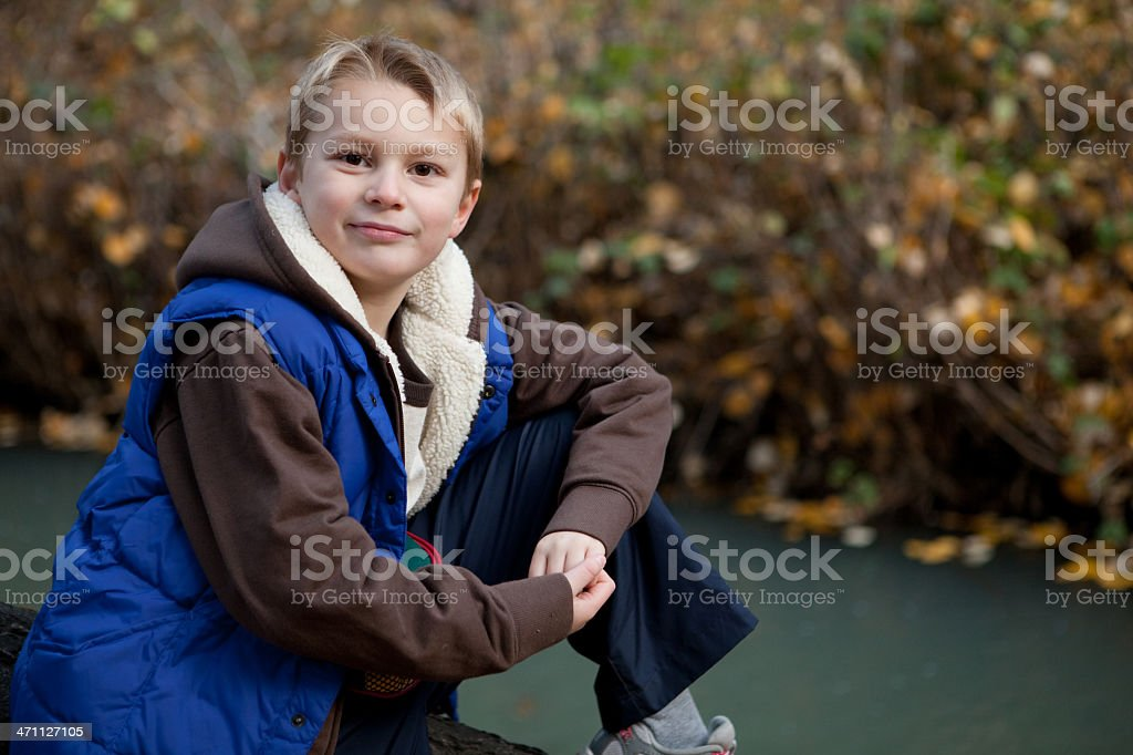 Young Man Posing stock photo