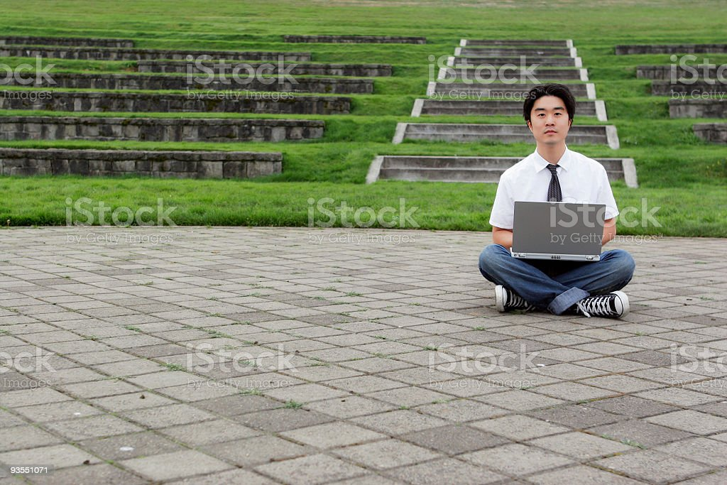 Young Man - Series royalty-free stock photo