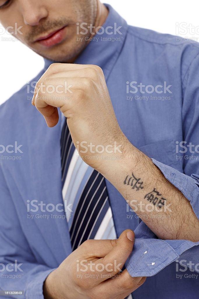 Tattoos unterarm mann