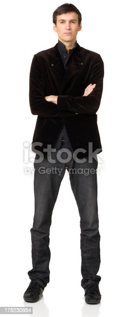 Portrait of a young man on a white background. http://s3.amazonaws.com/drbimages/m/005pd.jpg