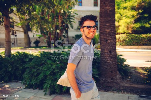 542972720 istock photo young man with sunglasses 503113969