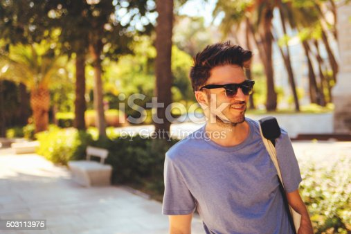 542972720 istock photo young man with sunglasses 503113975