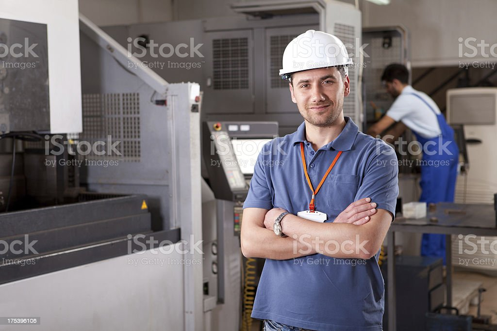 Young Manager stock photo