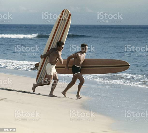 Young men running on beach with surfboard picture id119678446?b=1&k=6&m=119678446&s=612x612&h=h64mu3fkovhfsyunaag  1nm srwwom6ldduy4ou7js=