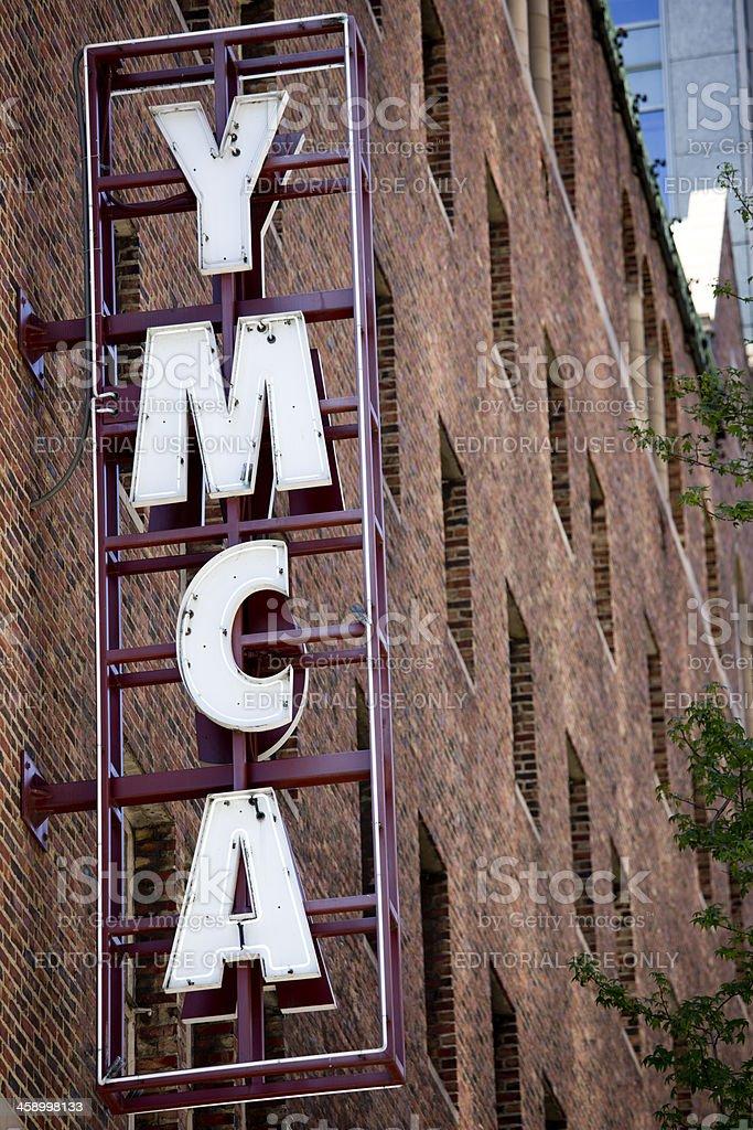 YMCA Young Mens Christian Association stock photo