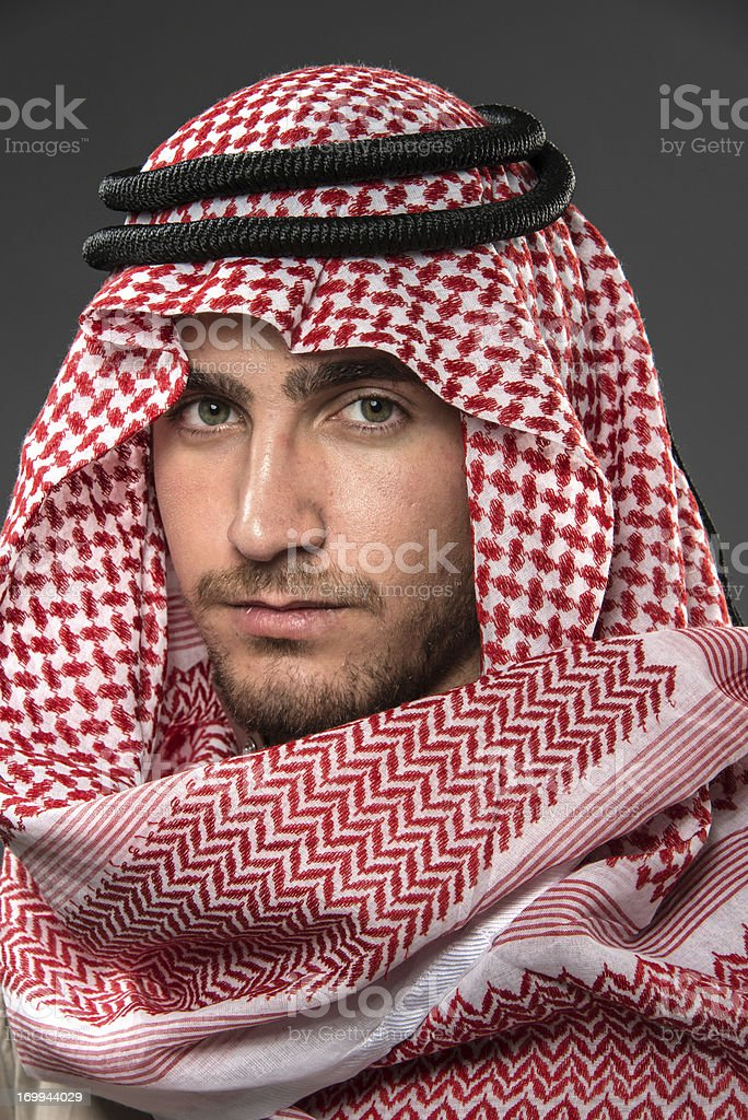 Young Middle Eastern Man stock photo