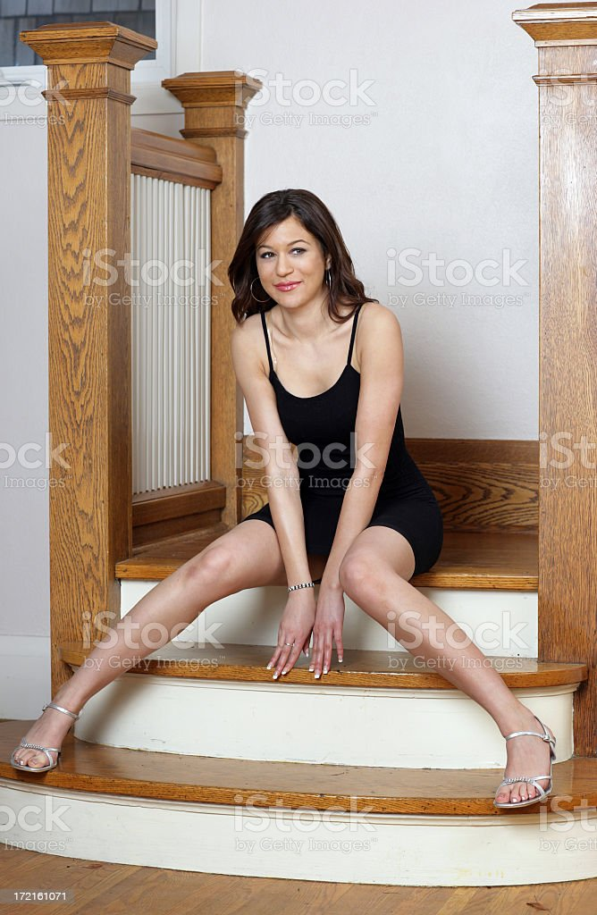Young Model royalty-free stock photo
