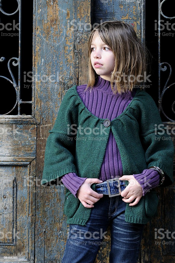 young model posing royalty-free stock photo