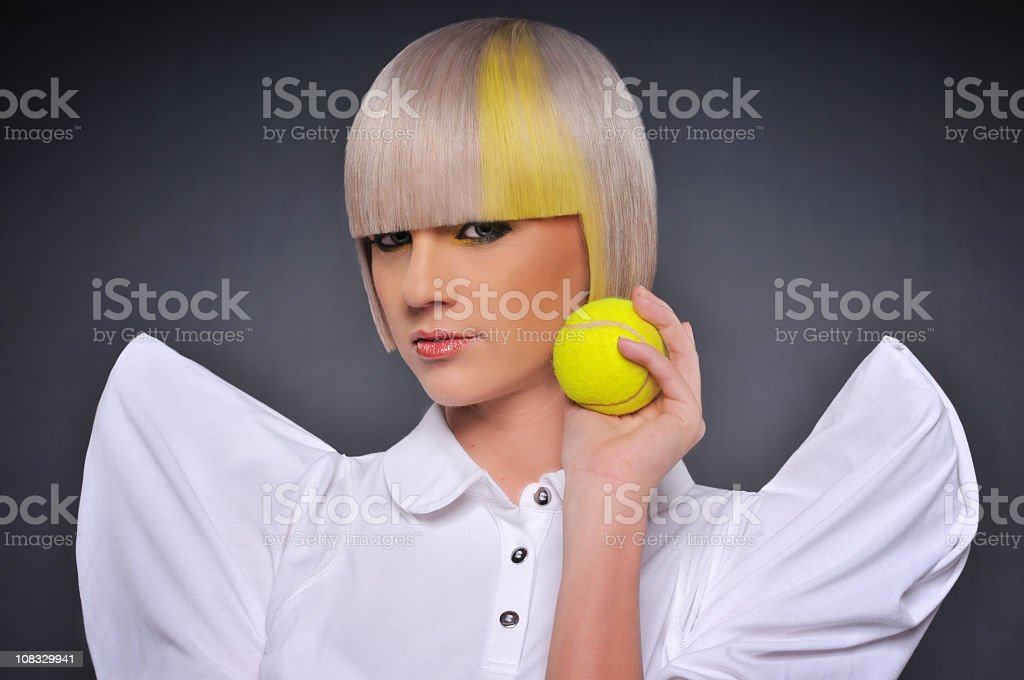 Young modern fashion model royalty-free stock photo