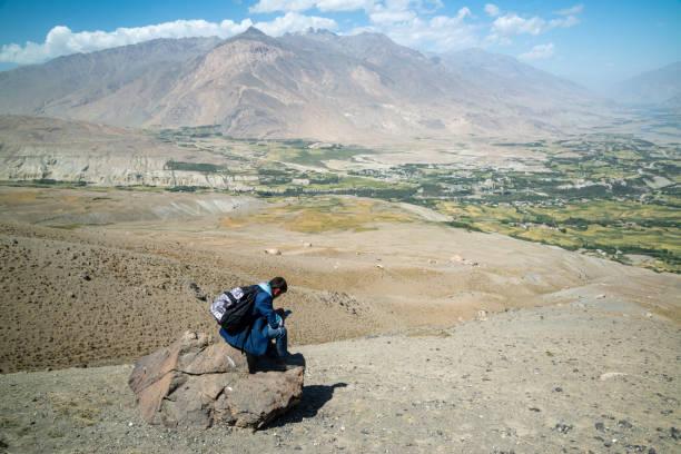 Junger Bergführer in Afghanistan-Bergen im Wakhan-Korridor – Foto