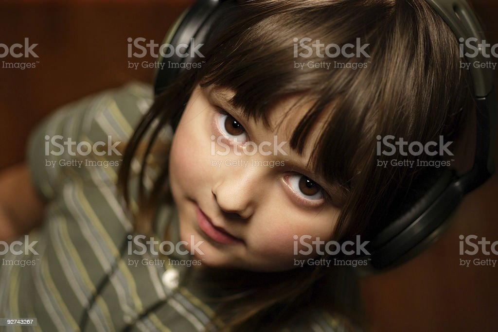 Junge Musikliebhaber Lizenzfreies stock-foto