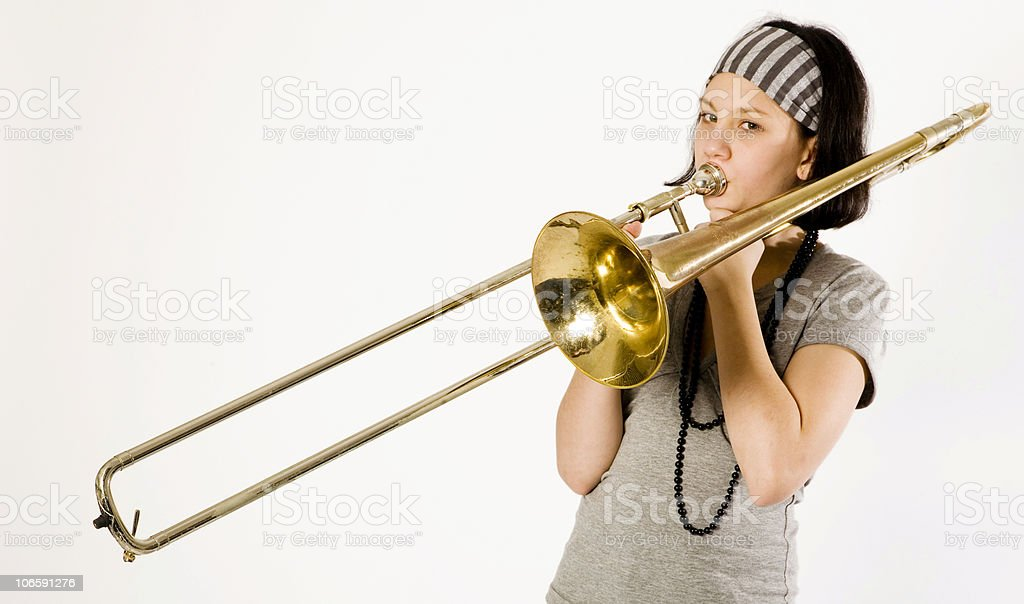 young musician serie stock photo