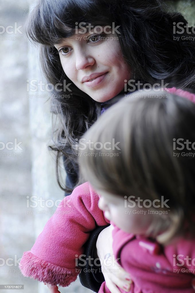 Young Nanny royalty-free stock photo