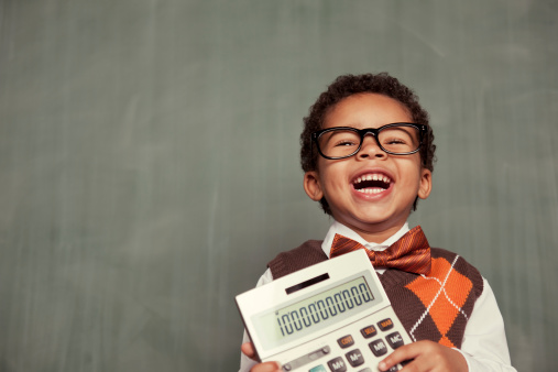 This little accountant just hit the jackpot and earned ten billion dollars for his company. Plenty of room for copy.