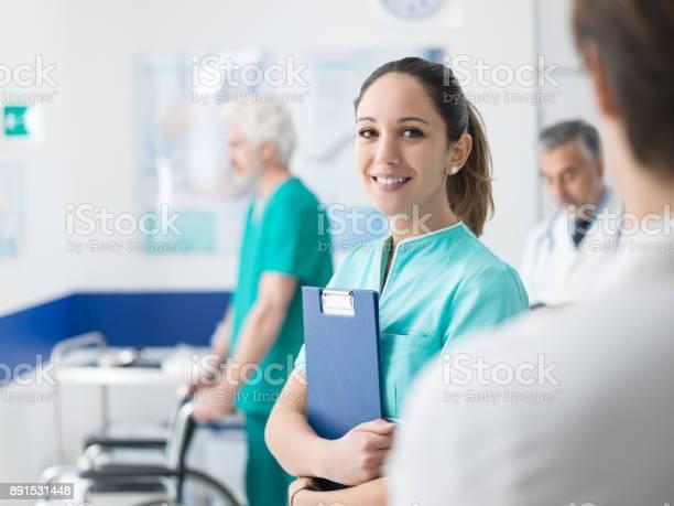 Young nurse working at the hospital picture id891531448?b=1&k=6&m=891531448&s=612x612&h=qnqt jtjtjunuuyz5oxzhnv pnivq3gvu onnzho2yi=