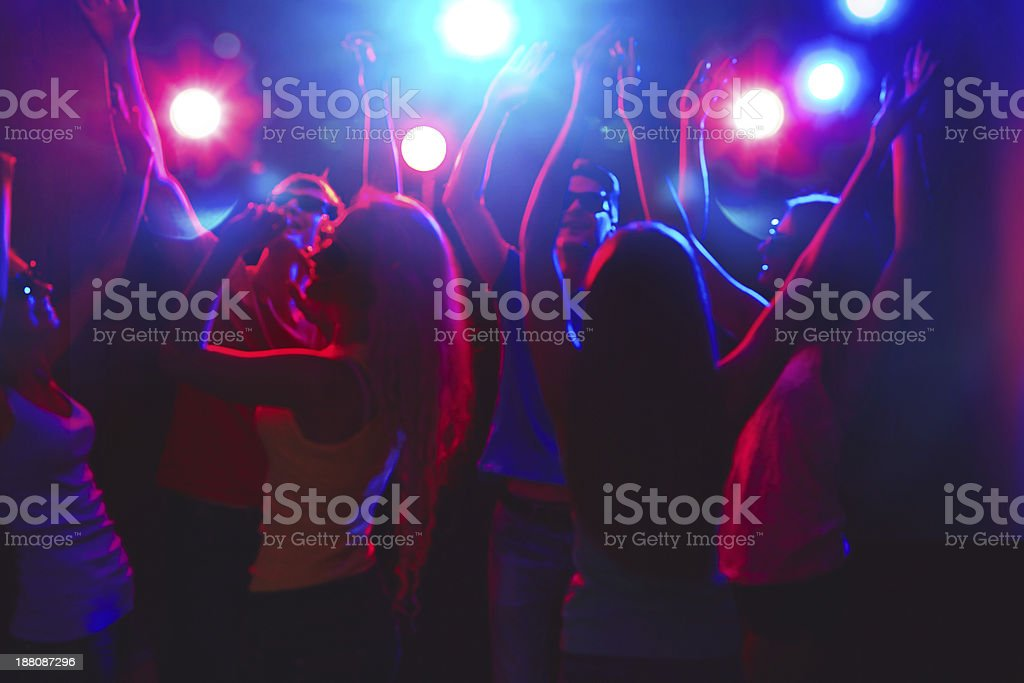 Young people at party. royalty-free stock photo