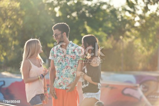 624206636istockphoto Young people at the skatepark 179495548