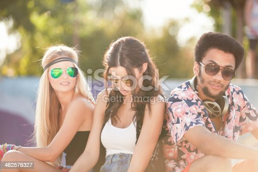 624206636istockphoto Young people at the skatepark 462576327