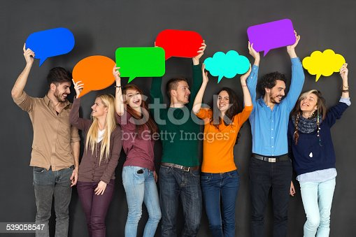 638013502 istock photo Young people communicating 539058547