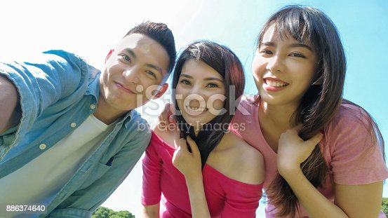 istock young people selfie happily 886374640