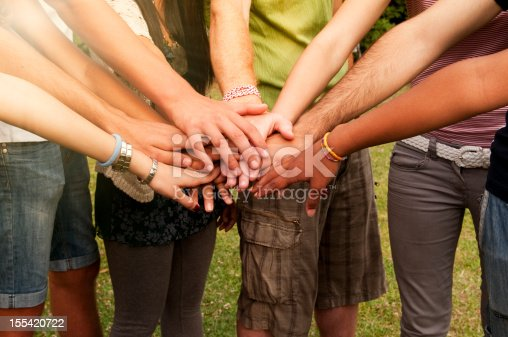 istock Young People Stack of Hands 155420722