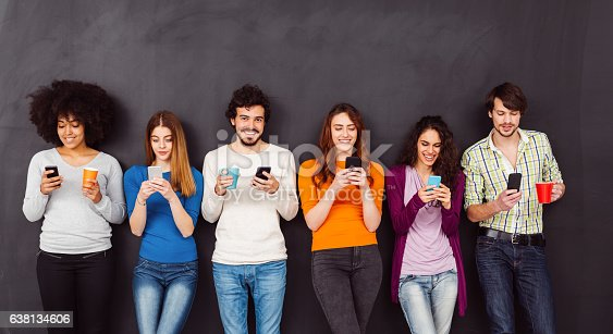 istock Young people text messaging 638134606