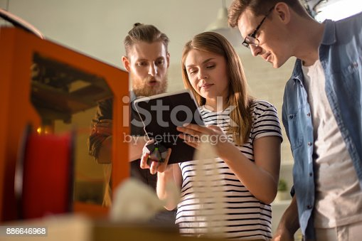 886646936 istock photo Young People Working with Modern Technology 886646968