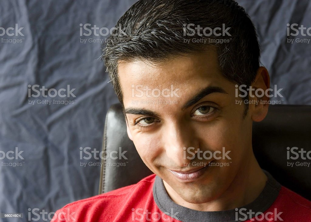 Young Persian Man royalty-free stock photo