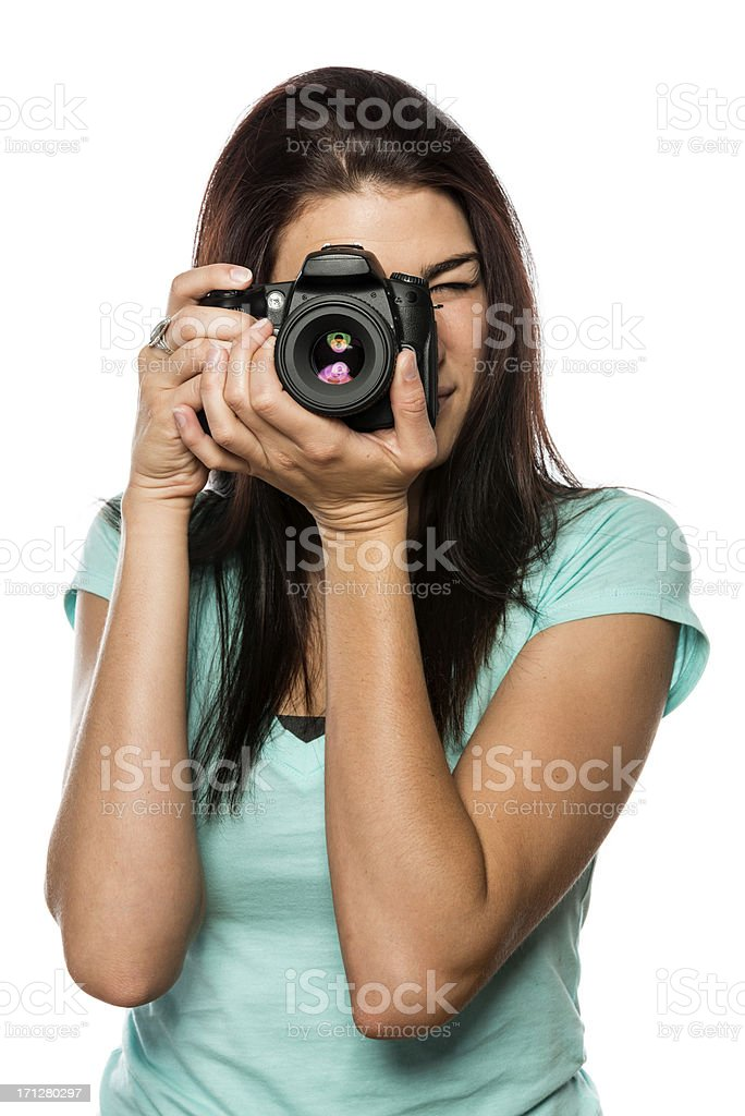Young Photographer royalty-free stock photo
