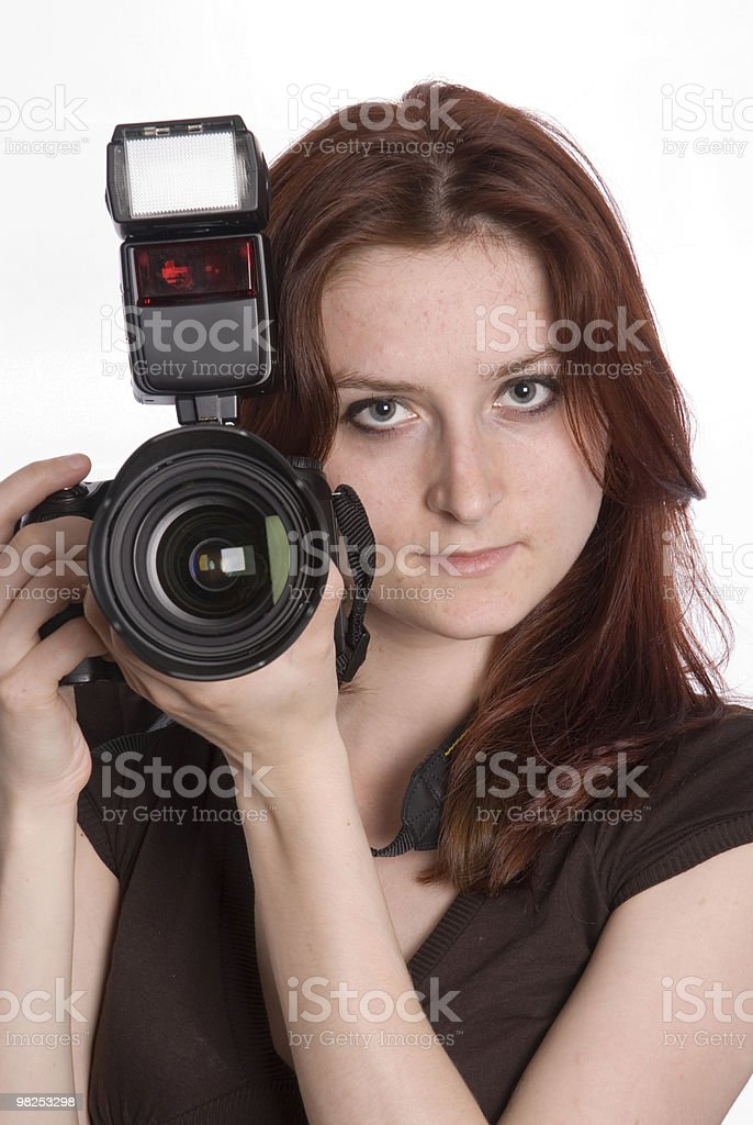 젊은 photographer royalty-free 스톡 사진