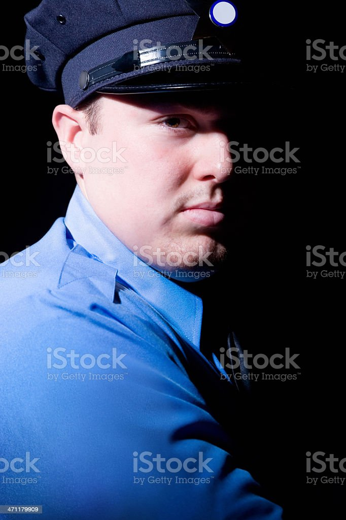 young police officer royalty-free stock photo