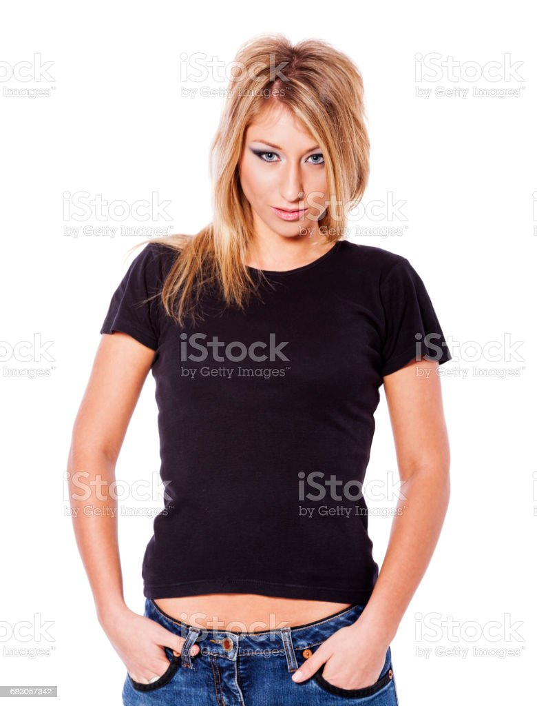 Young pretty woman foto de stock royalty-free