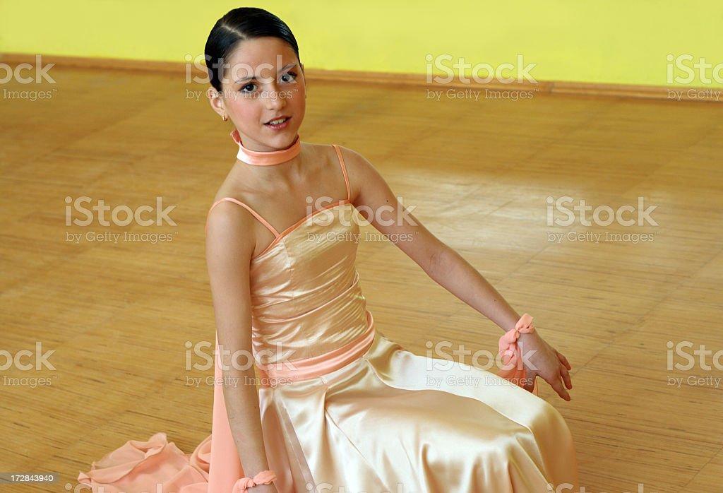 Young princess stock photo