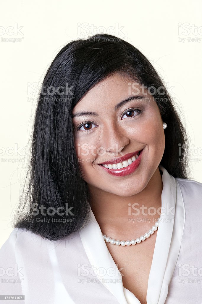 Young Professional Hispanic Woman royalty-free stock photo