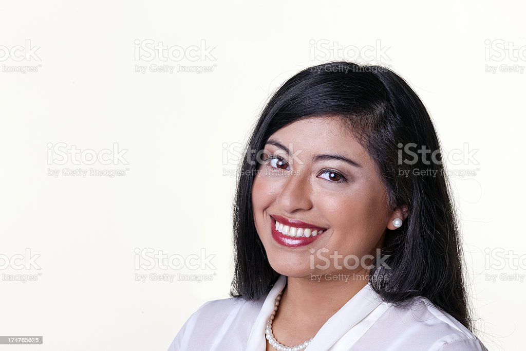 Young Professional Hispanic Woman stock photo