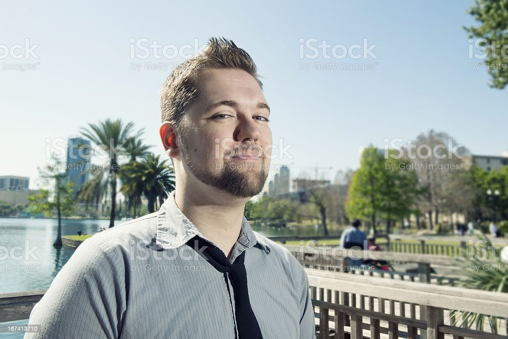 Young Professional Man in Orlando royalty-free stock photo