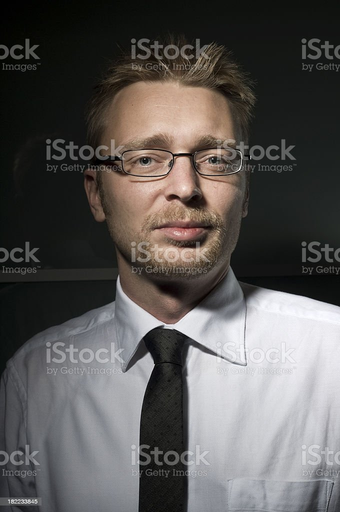 young professional stock photo