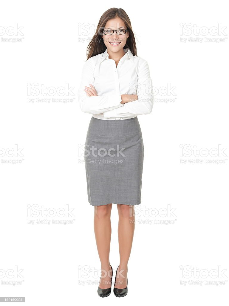 Young professional woman stock photo