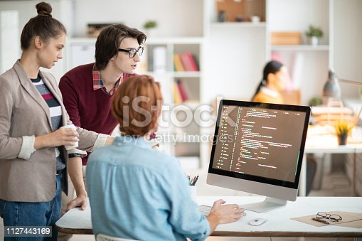 1098316816 istock photo Young programmers 1127443169