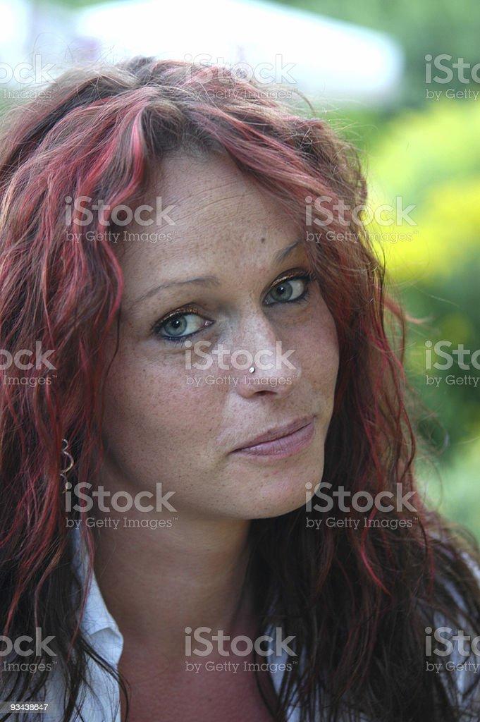Rote haare frauen