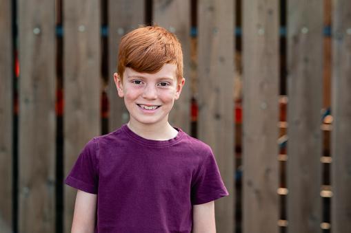 Young Redhead Boy